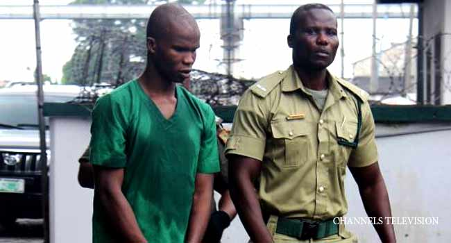 Suspected Ritual Killer, Ifeanyi Dike, Collapses During Trial