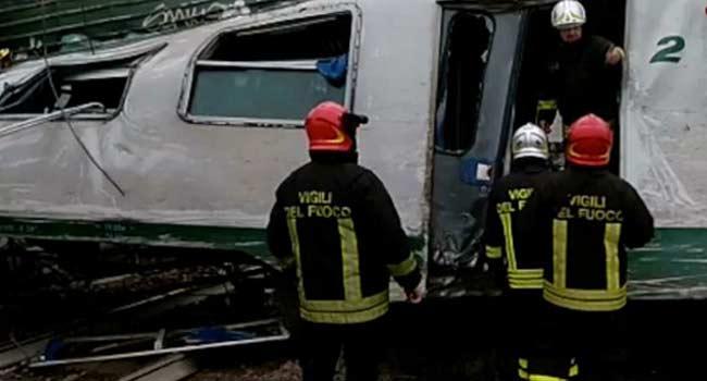 Two Dead, Dozens Injured As Train Derails Near Milan