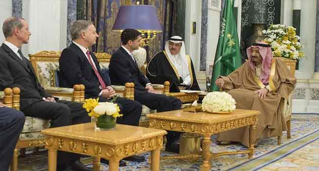 US House Speaker Holds Talks With Saudi King