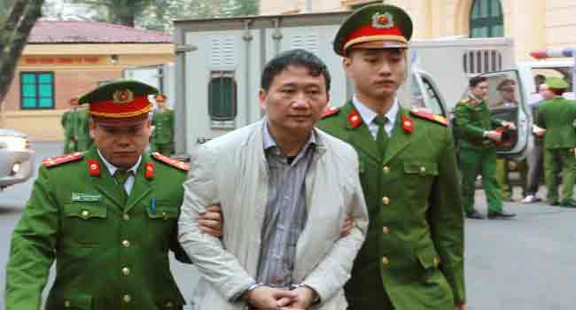 Vietnam Oil Executive Jailed For Life Over Embezzlement
