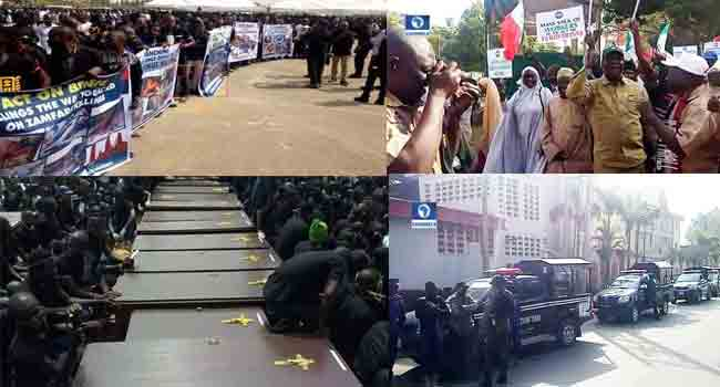 Week In Review: Tears From Benue, Protests In Kaduna And More