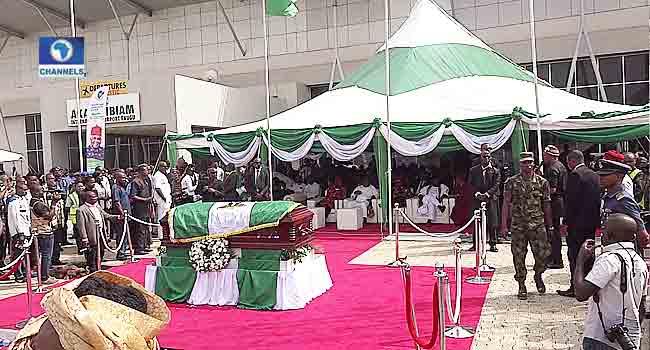 Key Quotes As Nigerians Bid Ekwueme Farewell