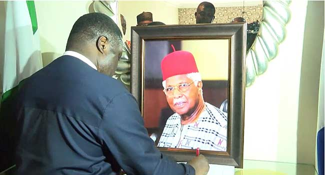 Ayade Pays Tribute To Alex Ekwueme