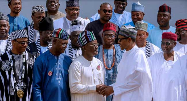 Buhari Asks Benue Leaders To Accommodate Their Countrymen 'In The Name Of God'
