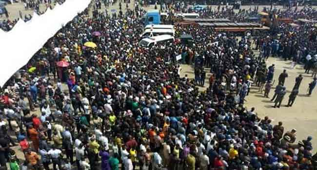 Tears, Anguish As Benue Govt Buries Attack Victims