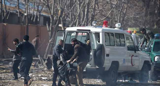 Suicide Bomber Kills At Least Nine In Afghanistan's Capital
