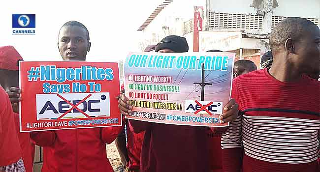Youths Protest Poor Power Supply In Niger State