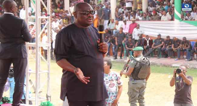 Governor Wike Assures ONELGA People Of Enhanced Security