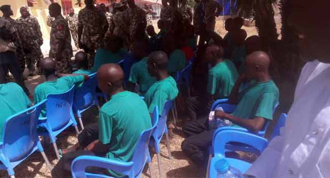 95 Repentant Boko Haram Fighters Set For Reintegration Into Society