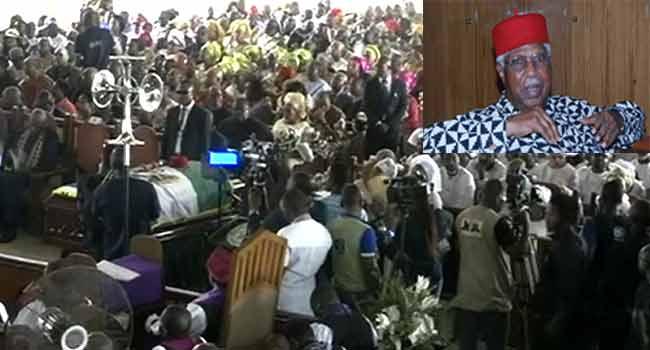 More Tributes At Alex Ekwueme's Funeral Service