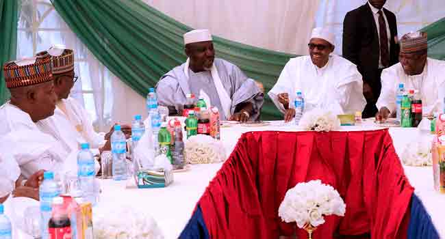APC Governors Visit Buhari, Praise Appointment Of Tinubu For Reconciliation