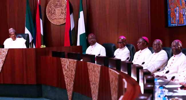 Catholic Bishops Visit Buhari, Reject Cattle Colonies