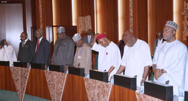 Osinbajo, Ministers, Others At FEC Meeting Presided Over By Buhari