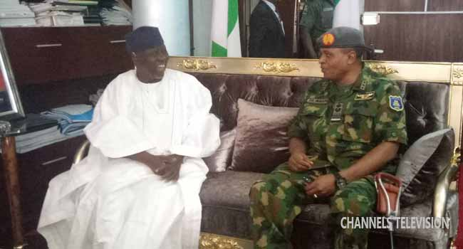 Air Force Operations: Chief Of Air Staff Holds Talks With Al-Makura