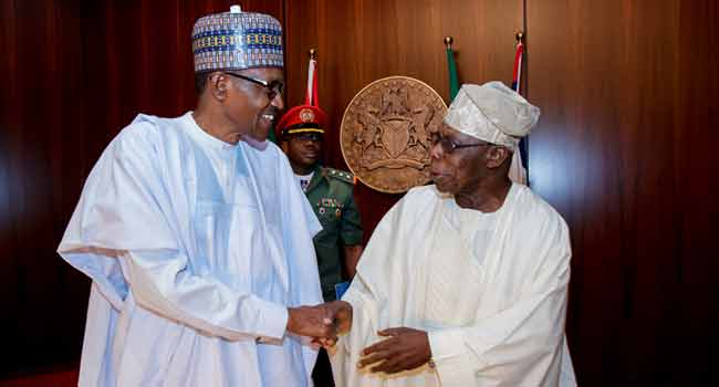 Obasanjo, Abdulsalami, Others In Abuja For Council Of State Meeting