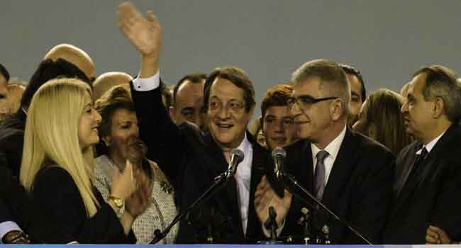 Cyprus President Wins Re-Election For Second-Term