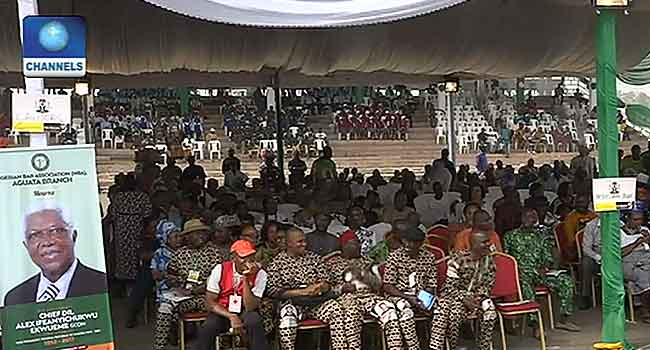 More Tributes Pour In At Ekwueme's Commendation Service