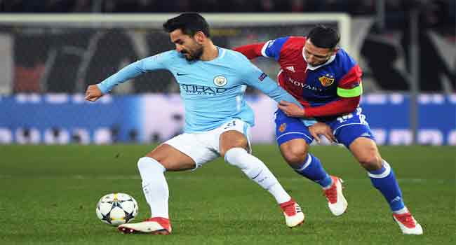 Man City's Gundogan Wants EPL Title Given To Liverpool