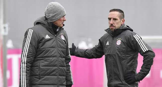 Bayern Take On Besiktas Without Robben, Ribery