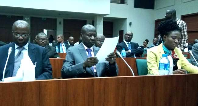 Magu gives breakdown of loot EFCC recovered in 2017