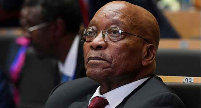 Court Adjourns Corruption Case Against Zuma Till June