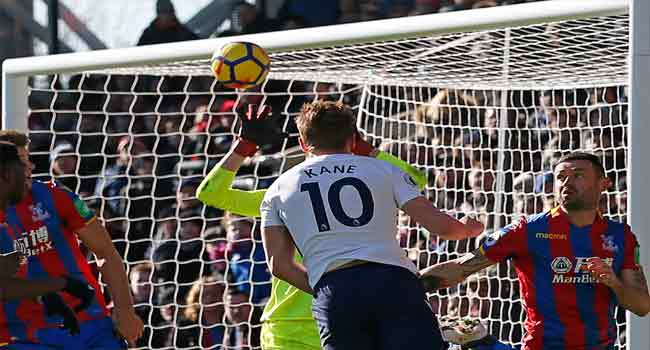 Kane Rescues Tottenham With Late Winner At Palace