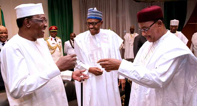 President Buhari Joins African Leaders At Lake Chad Conference