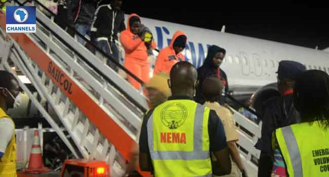 NEMA Receives Another 120 Returnees From Libya