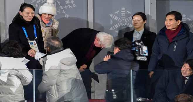 North, South Korea Heads Of State Meet, Shake Hands