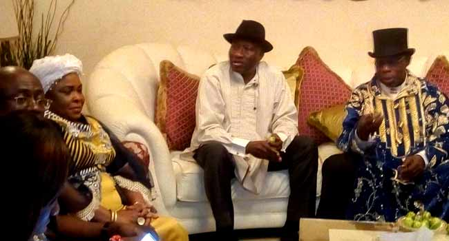 VIDEO: Obasanjo Holds 'Meeting Of Brothers' With Jonathan