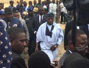 Obasanjo Continues Bayelsa Tour, Lays Foundation For Refinery