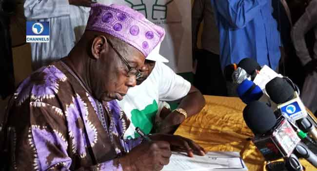 Obasanjo's Coalition Turns Partisan, Adopts ADC