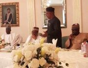 PDP Leaders' Visit To Babangida In Pictures