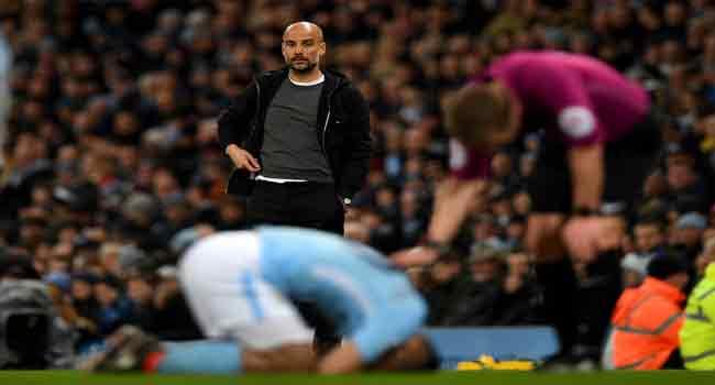 Aguero Might Miss Watford Clash Over Injury – Guardiola