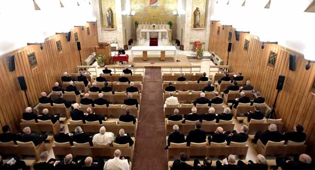 Vatican excludes gay union blessing as God 'can't bless sin'