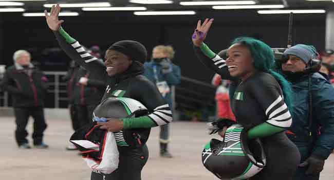 Nigeria's Bobsleigh Women Savour Olympic Moment