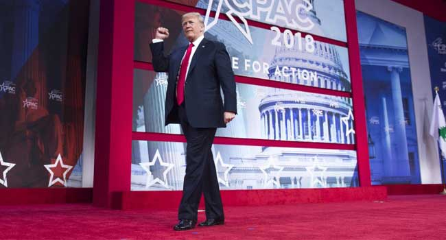 Trump Defends Plan To Arm Teachers
