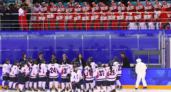 Tears And Cheers As Unified Korean Team Bows Out of Olympics