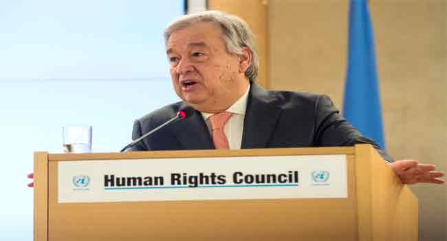 UN Chief Demands Probe Of Strike On Libya Migrant Center