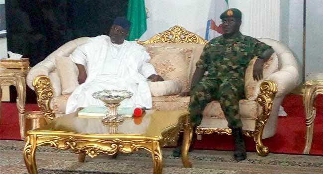 Al-Makura Donates N200m To Military As Buratai Visits Nasarawa