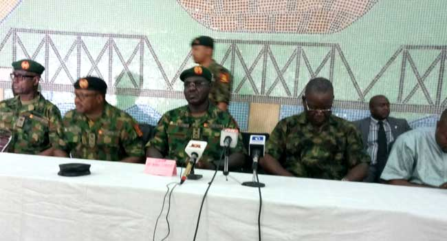 Military Starts 'Operation Cat Race' Exercise In Benue