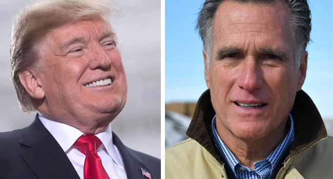Trump And Romney Friends Again On Twitter