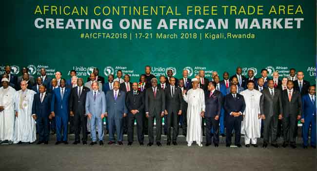 Nigeria Absent As 44 African Nations Sign Free Trade Area Agreement