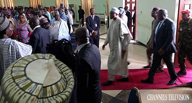 Buhari Meets With Farmers, Miyetti Allah, Others In Benue