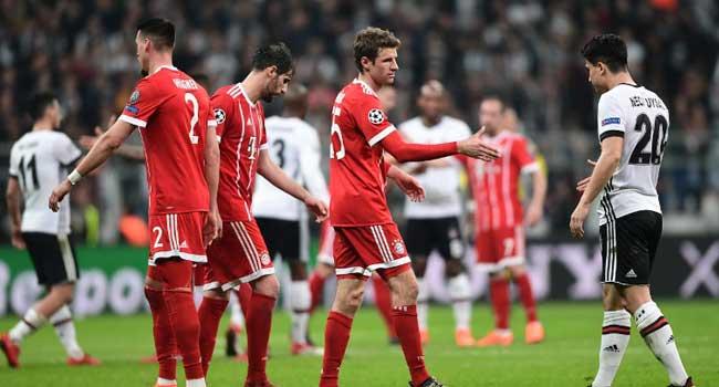 Bayern Sweep Aside Besiktas To Reach Quarter-Finals