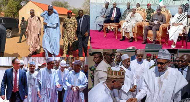 Out And About: President Buhari Shows Up