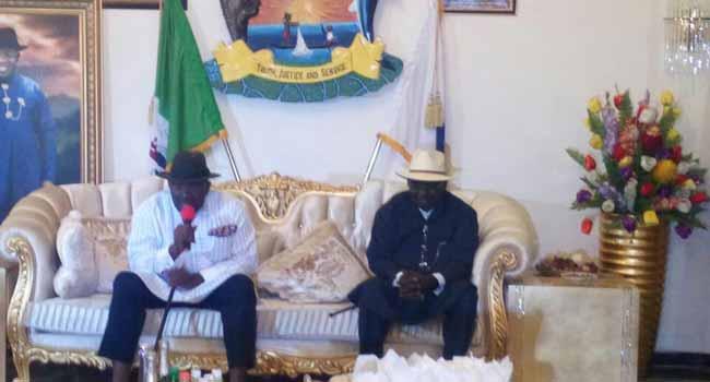 Buratai Visits Bayelsa State Governor Dickson