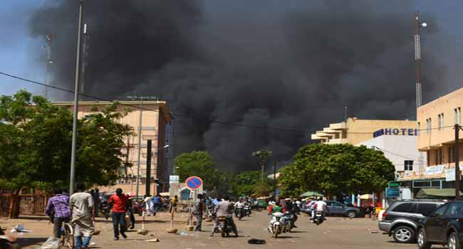 Multiple Attacks Rock French Embassy, Military HQ In Burkina Faso