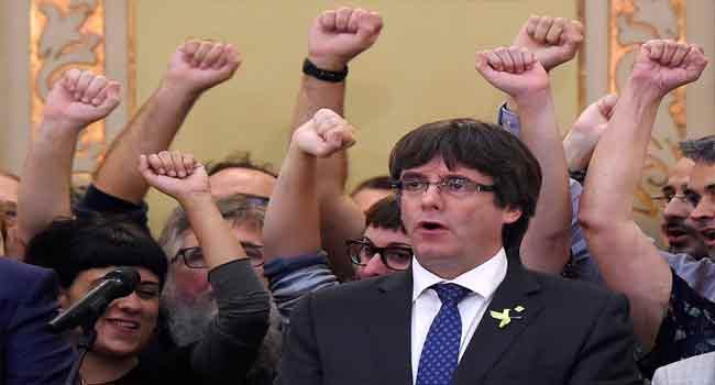 German Police Arrest Ex-Catalan Leader, Carles Puigdemont