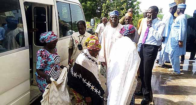 Parents Of Chibok Girls In Captivity Visit Obasanjo